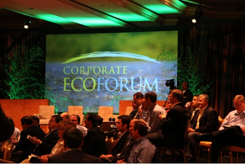 CEF members gather for the opening town hall discussion at the 2011 Annual Meeting